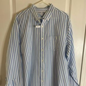 NWT Old Navy Everyday Regular Fit Striped Shirt